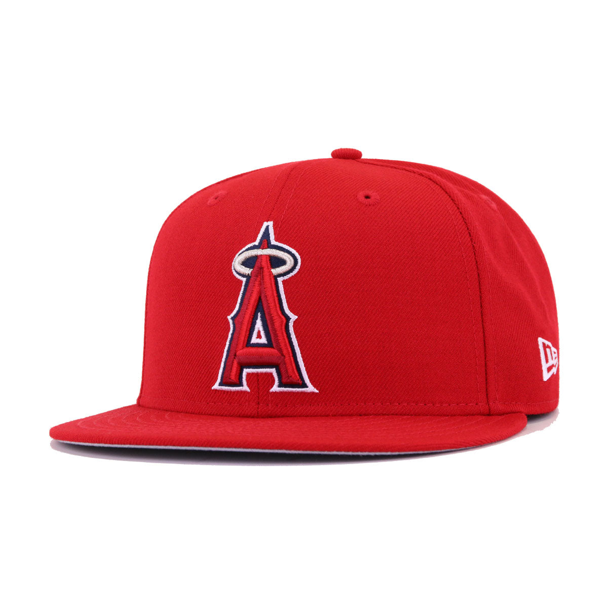 Los Angeles Angels Scarlet 50th Anniversary New Era 9Fifty Snapback