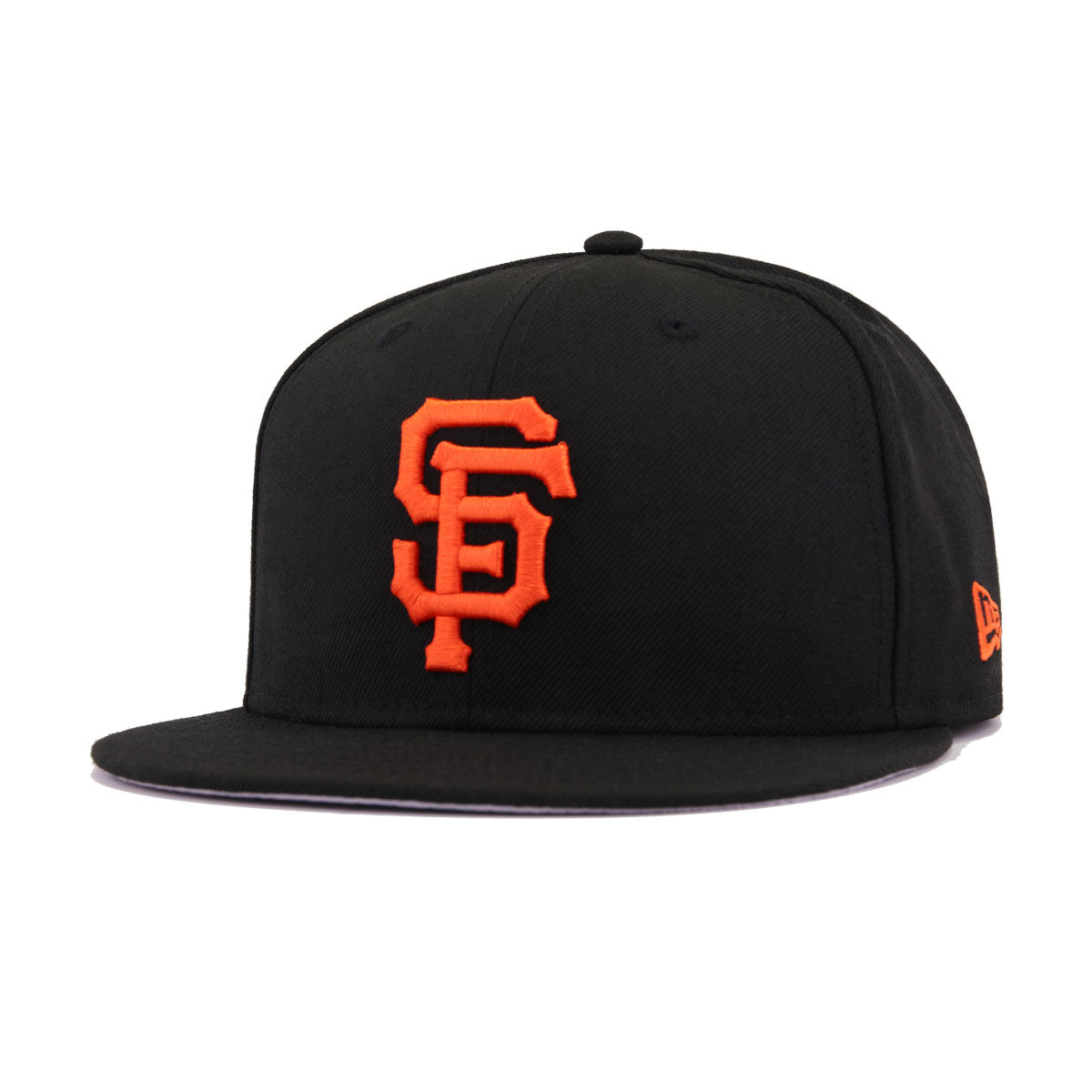 28511c8bc0ef76 San Francisco Giants Black Grilled Orange New Era 9Fifty Snapback