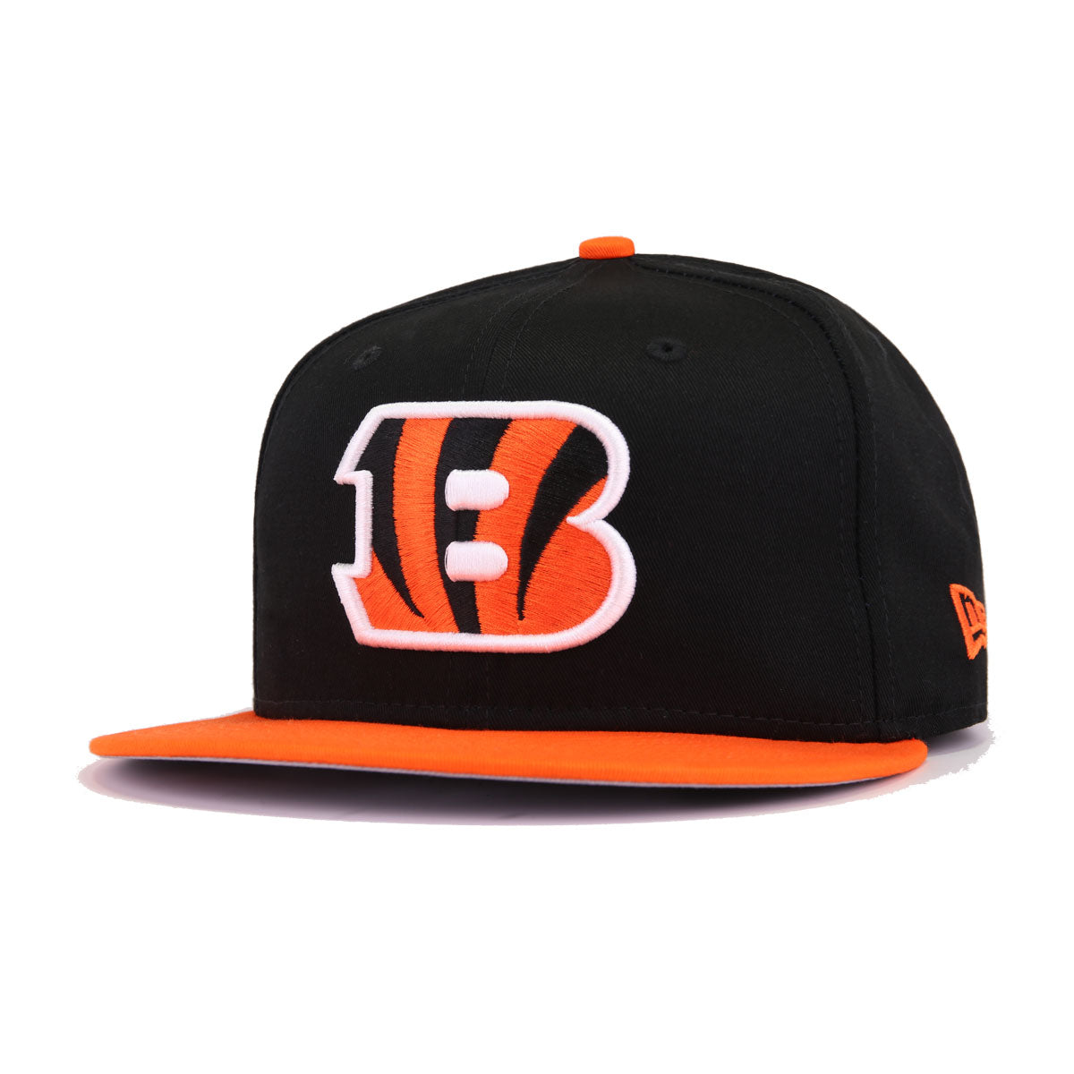 newest collection famous brand sneakers for cheap Cincinnati Bengals Black Orangeade New Era 9Fifty Snapback
