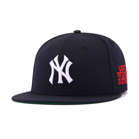 New York Yankees Navy 1977 World Series Cooperstown New Era 59Fifty Fitted