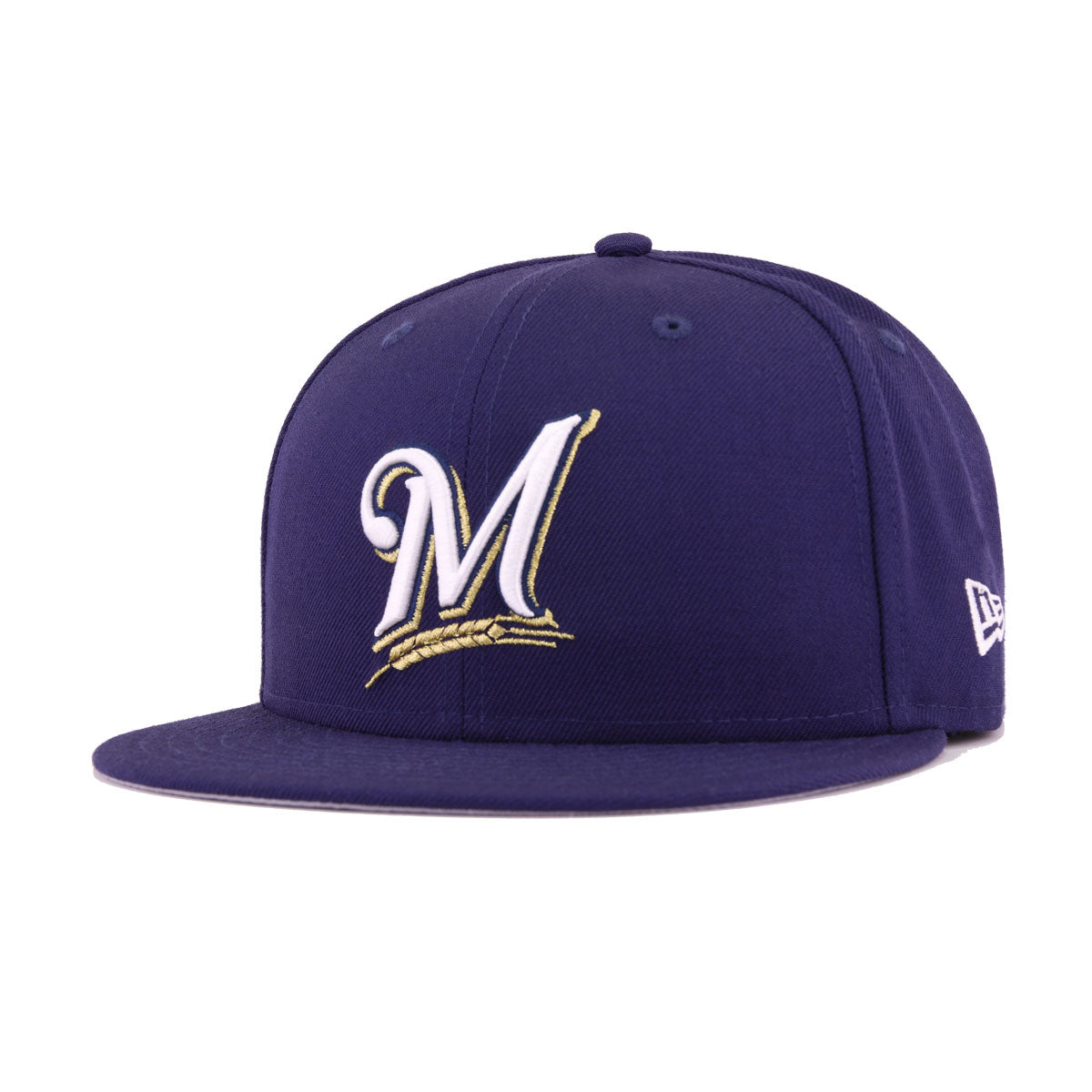 Milwaukee Brewers Light Navy 2002 All Star Game New Era 59Fifty Fitted