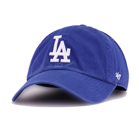 Los Angeles Dodgers Light Royal Blue 47 Brand Clean Up Dad Hat