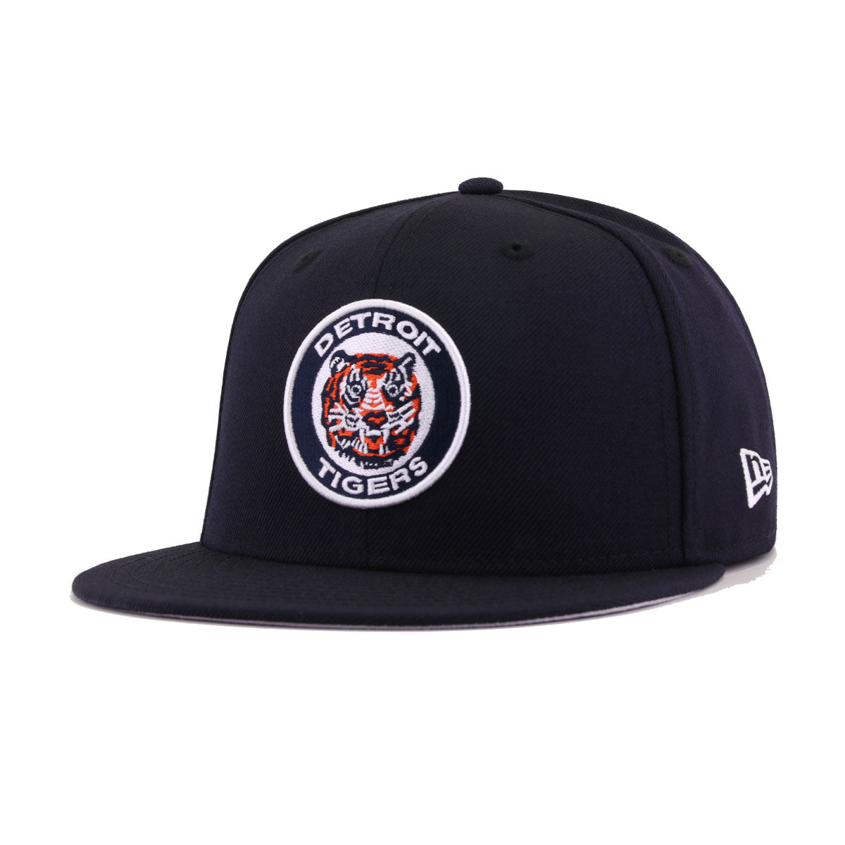 Detroit Tigers Navy Tiger Cooperstown New Era 59Fifty Fitted