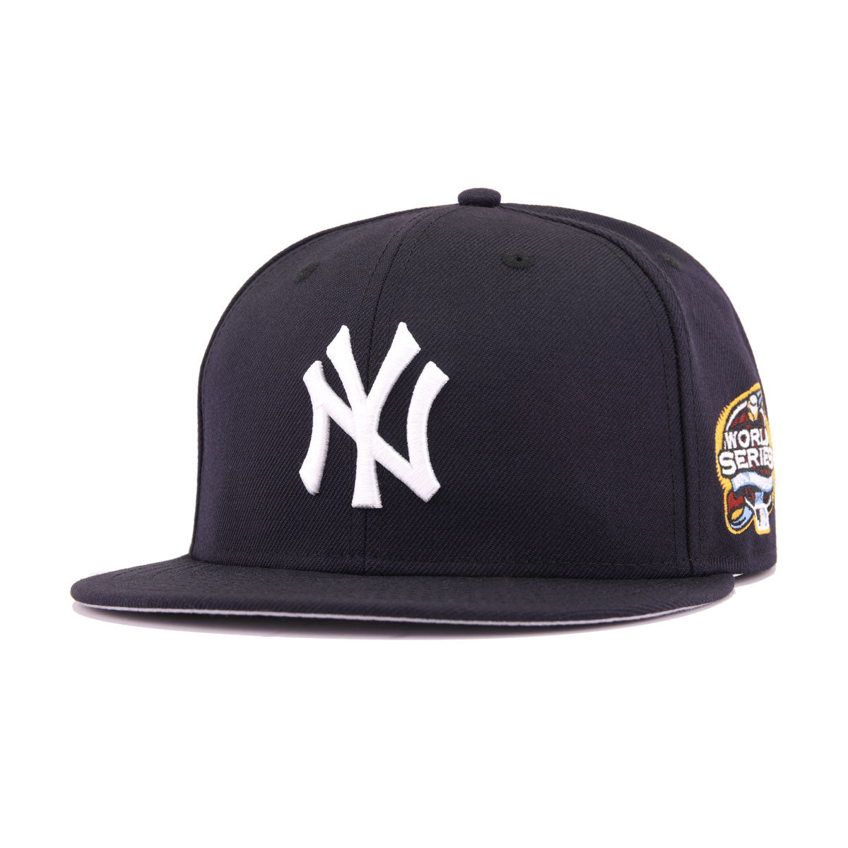 812beca57e8 New York Yankees Navy Cooperstown 2003 World Series New Era 59Fifty Fitted