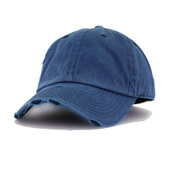 Distressed Pigmented Navy KBEthos Vintage Dad Hat