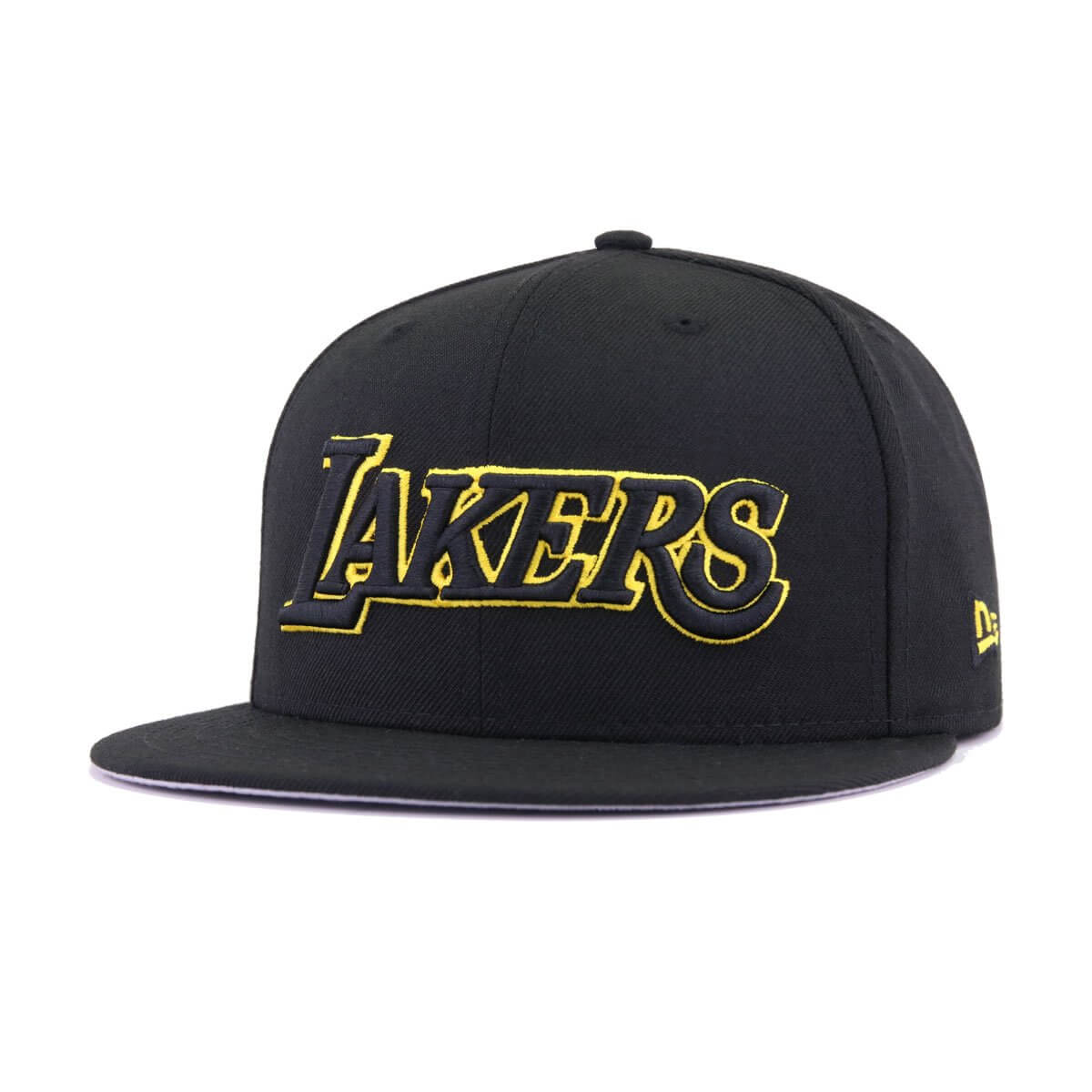a0047689d14 Los Angeles Lakers Black Manila City Series New Era 59Fifty Fitted
