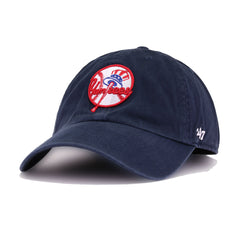 New York Yankees Navy Tophat 47 Brand Clean Up Dad Hat