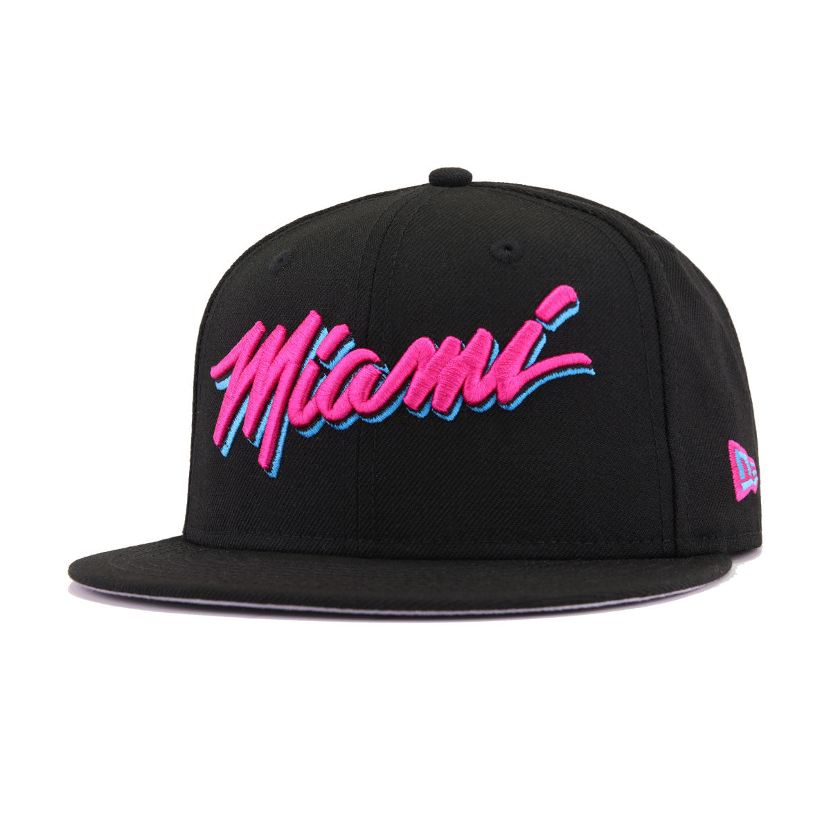 Miami Heat Black Beet Root Purple City Series New Era 9Fifty Snapback