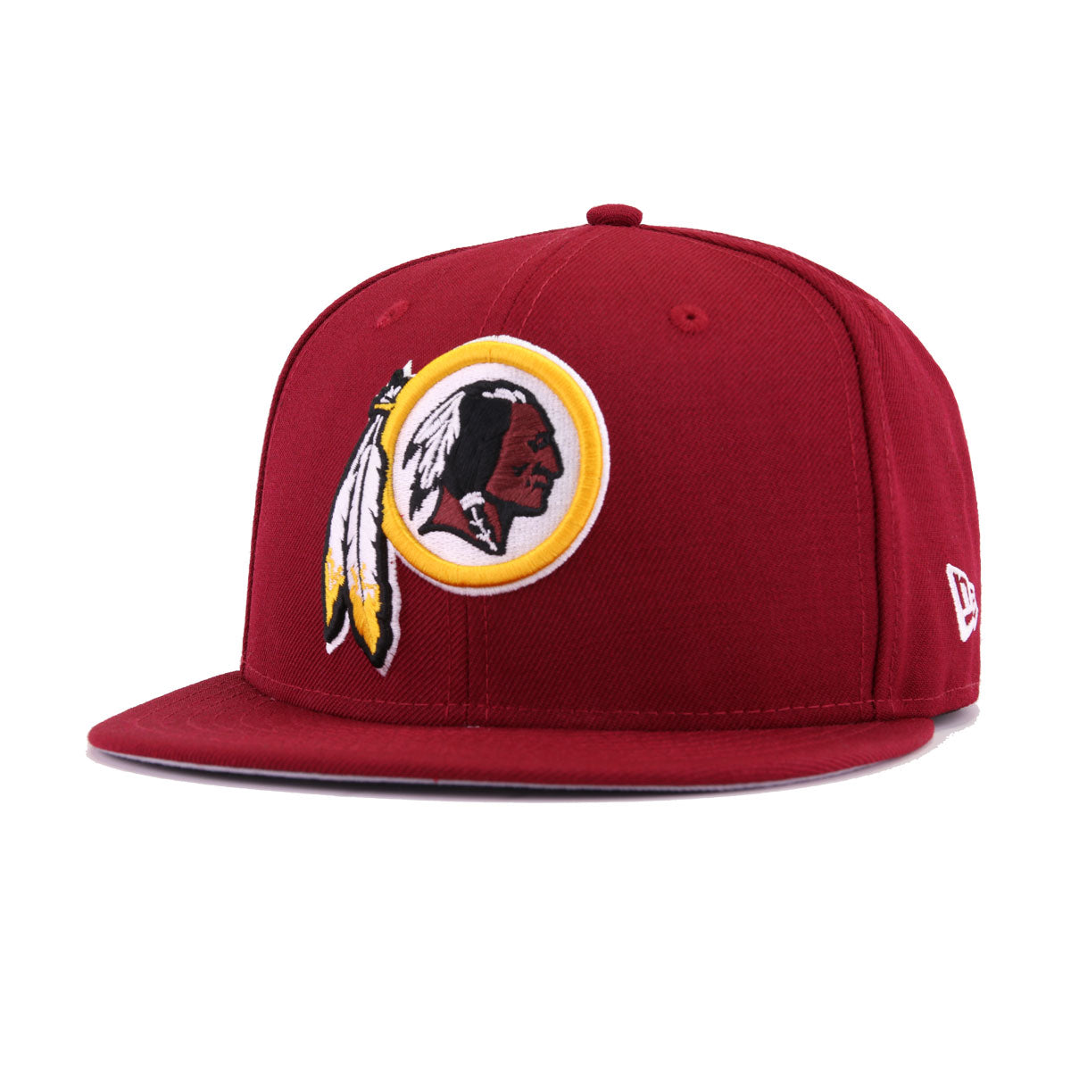 d621a48a Washington Redskins Cardinal Red Maroon A's Gold Superbowl 26 New Era  9Fifty Snapback