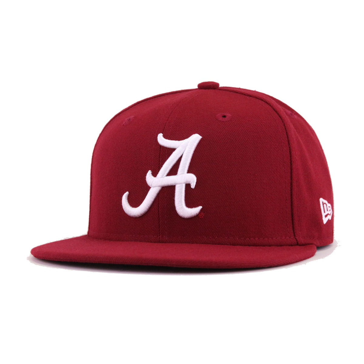 Alabama Crimson Tide Cardinal Red New Era 59Fifty Fitted 494c5df31