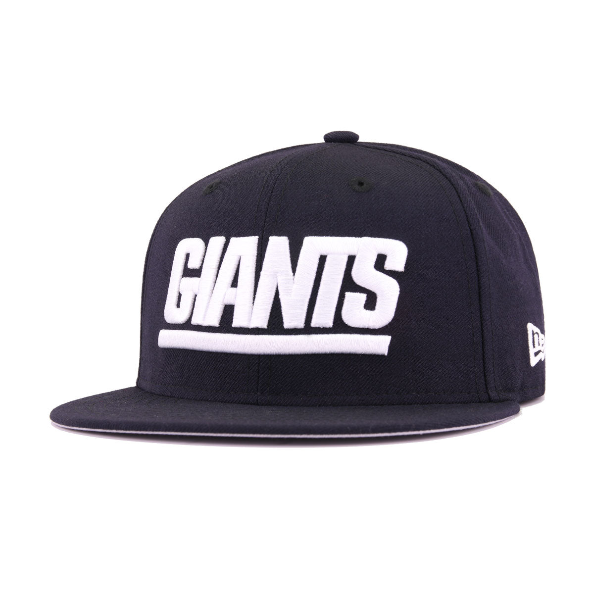 New York Giants Navy Wordmark New Era 9Fifty Snapback