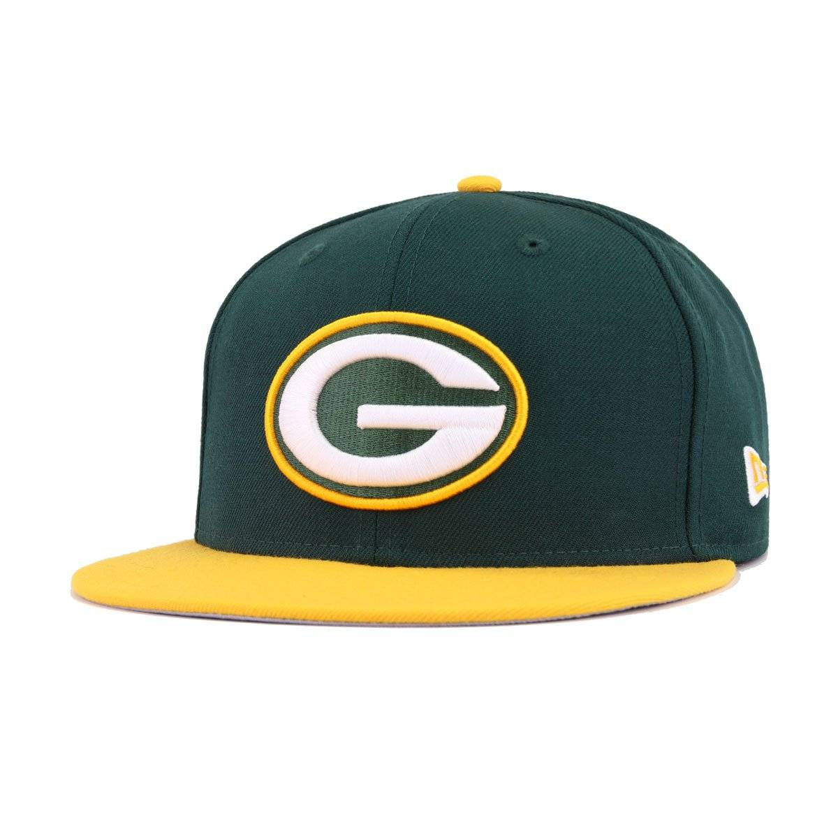 Green Bay Packers Dark Green A's Gold New Era 9Fifty Snapback