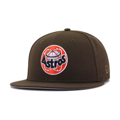 Houston Astros Walnut Astrodome Cooperstown New Era 59Fifty Fitted