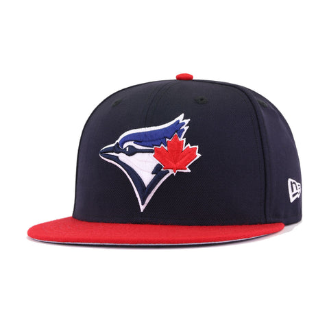 Toronto Blue Jays Navy Scarlet New Era 59Fifty Fitted