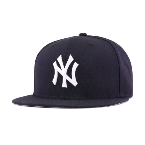New York Yankees Navy Cooperstown AC New Era 59Fifty Fitted