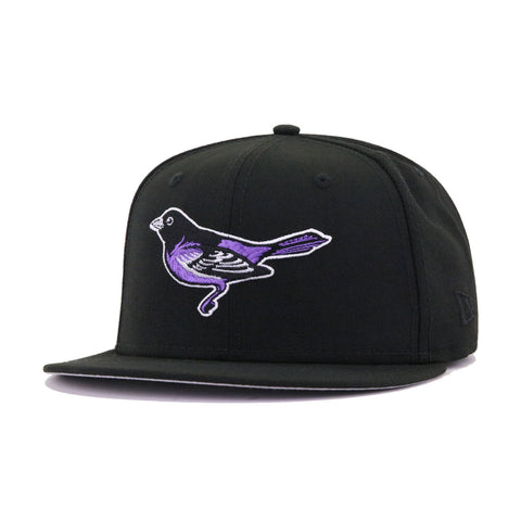 Baltimore Orioles Black BMORE New Era 59Fifty Fitted