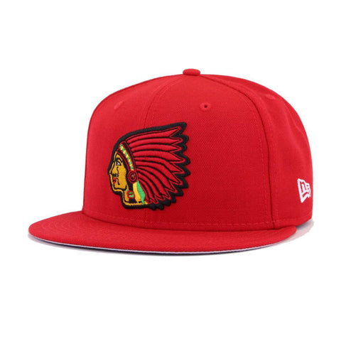 Boston Braves Scarlet Cooperstown New Era 59Fifty Fitted
