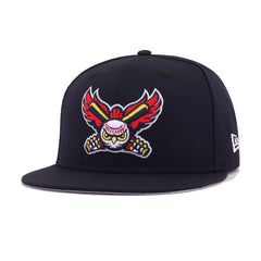 Orem Owlz Navy New Era 59Fifty Fitted