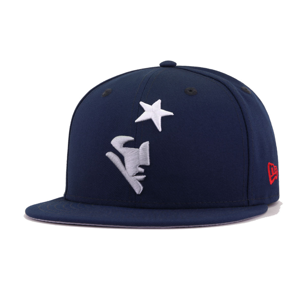 New England Patriots Oceanside Blue Elemental New Era 59Fifty Fitted
