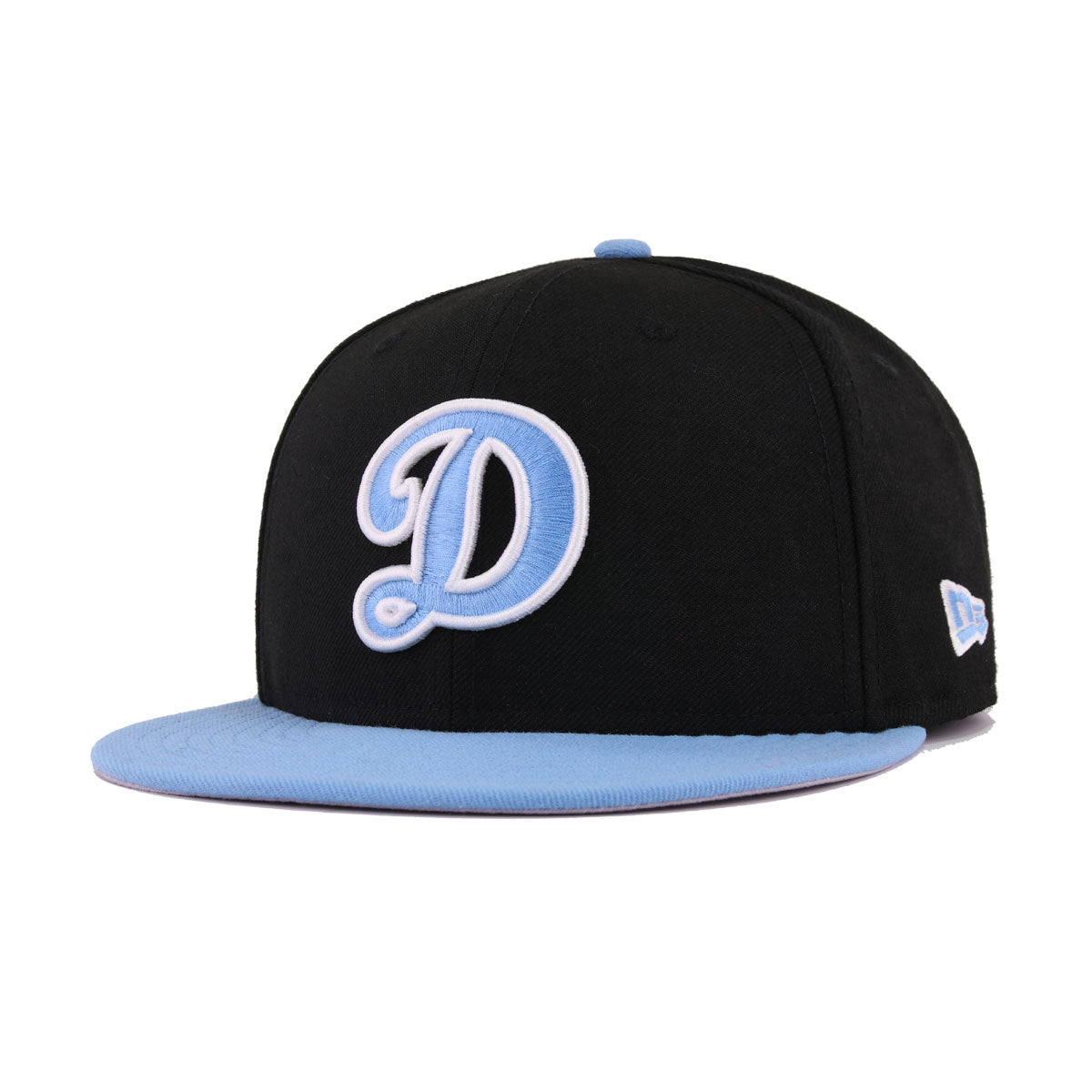 Los Angeles Dodgers Black Sky Blue New Era 9Fifty Snapback