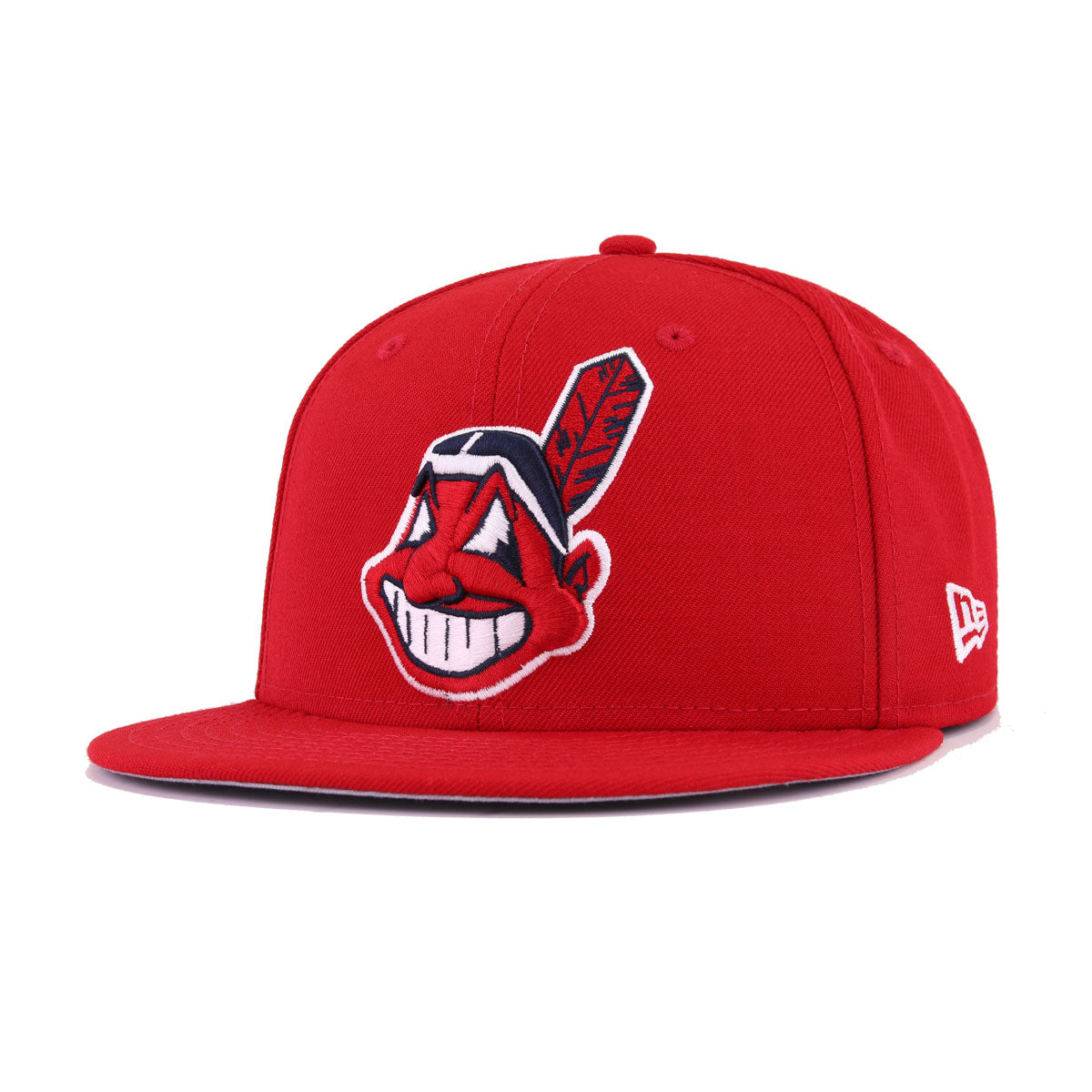 7cdc07a2801 Cleveland Indians Scarlet 1997 World Series New Era 9Fifty Snapback