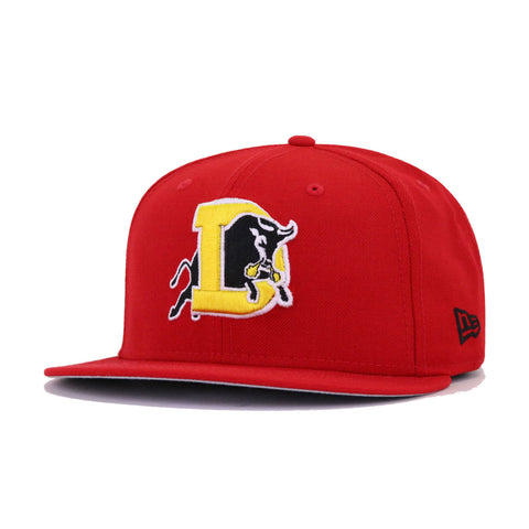 Durham Bulls Scarlet THE FOREIGN New Era 59Fifty Fitted