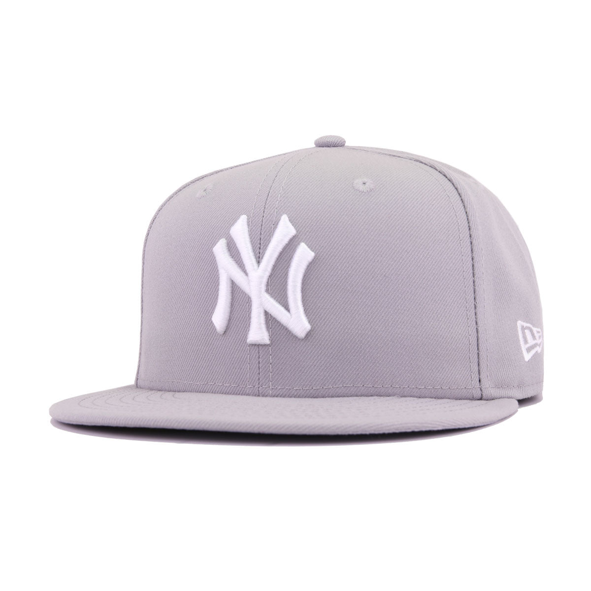 71c0ac16e3914 New York Yankees Grey New Era 59Fifty Fitted