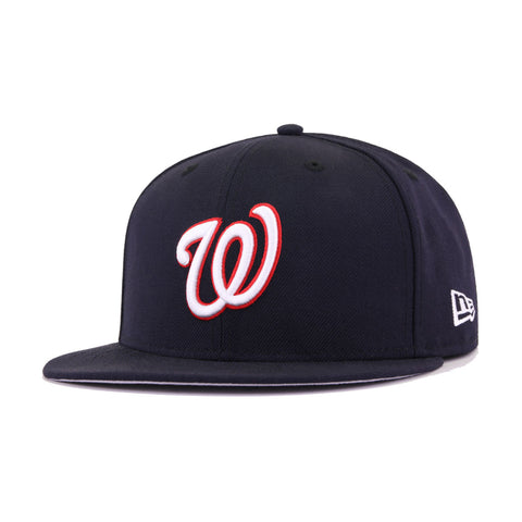 Washingon Nationals Navy New Era 59Fifty Fitted