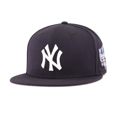 f6e093ccbb3 New York Yankees Navy Cooperstown 2000 World Series New Era 59Fifty Fitted