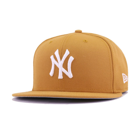 23a57d89dd2 New York Yankees Panama Tan New Era 59Fifty Fitted