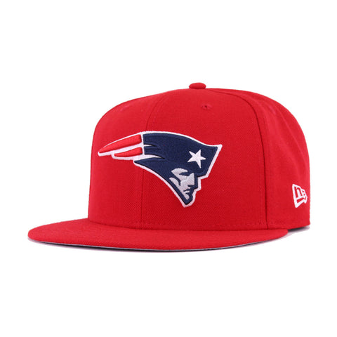 New England Patriots Scarlet Super Bowl 49 New Era 9Fifty Snapback