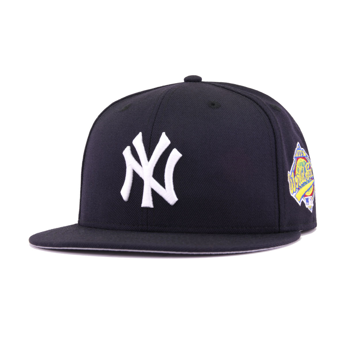 New York Yankees Navy Cooperstown 1996 World Series New Era 59Fifty Fitted