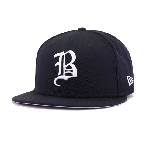 Boston Braves Navy Cooperstown New Era 59Fifty Fitted