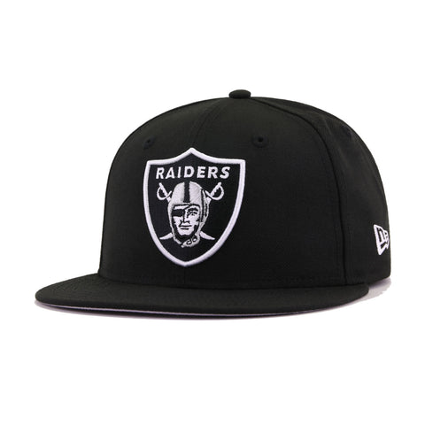 Las Vegas Raiders Black New Era 59Fifty Fitted