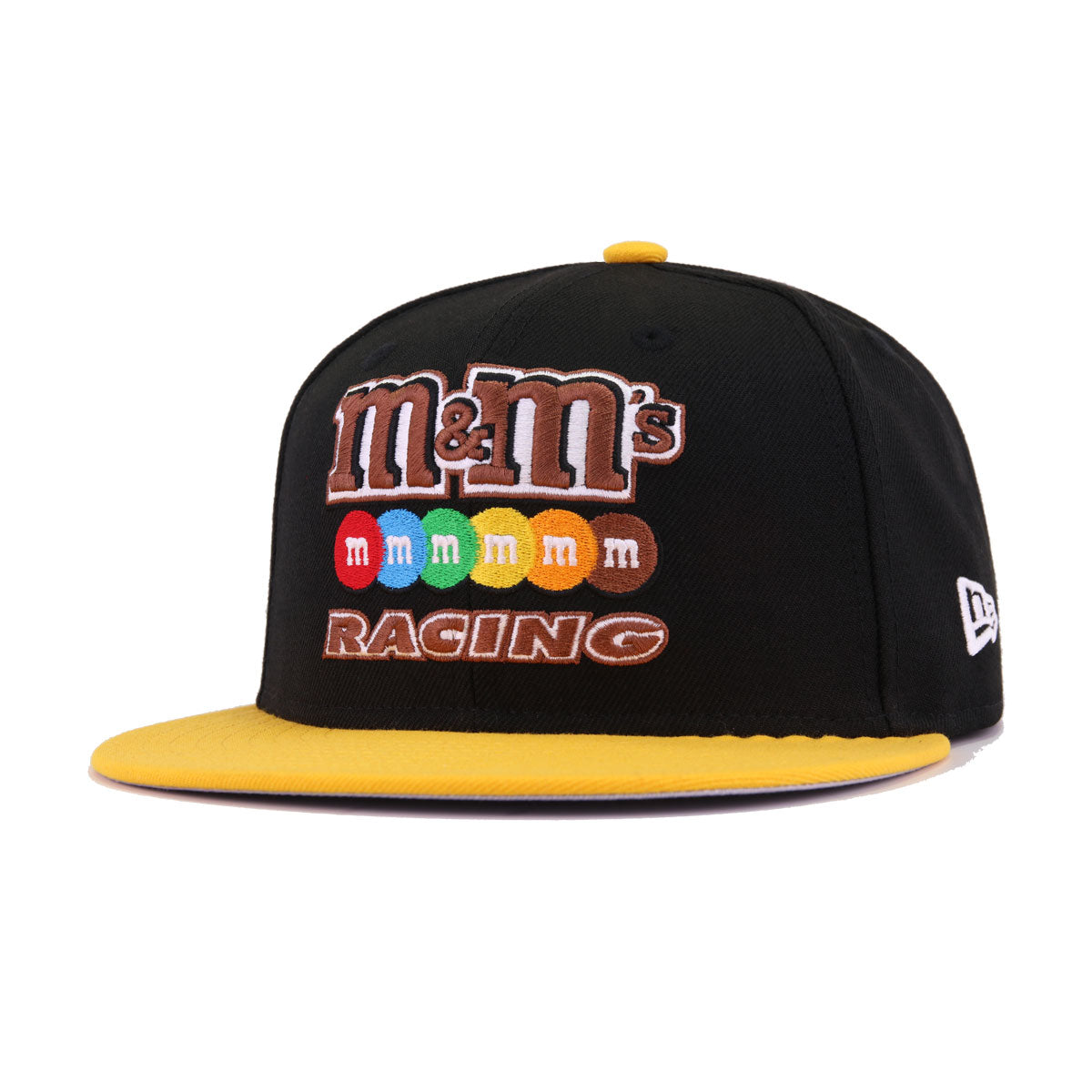 NASCAR Kyle Busch Black A's Gold M&Ms No18 New Era 9Fifty Snapback