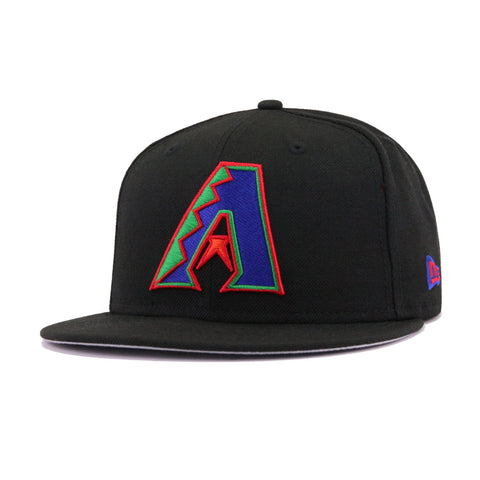 Arizona Diamondbacks Black Chow Blue Kelly Green Scarlet Orangeade New Era 9Fifty Snapback