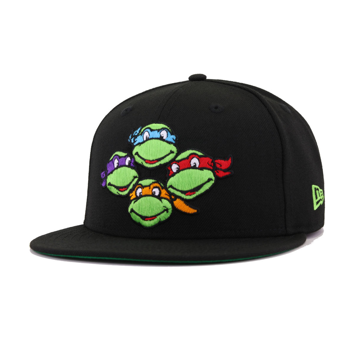 TMNT Teenage Mutant Ninja Turtles Black New Era 9Fifty Snapback