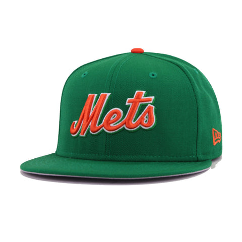 New York Mets Kelly Green New Era 9Fifty Snapback