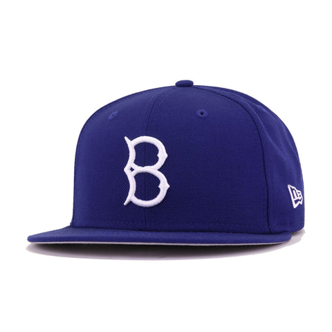 Brooklyn Dodgers Dark Royal New Era 59Fifty Fitted