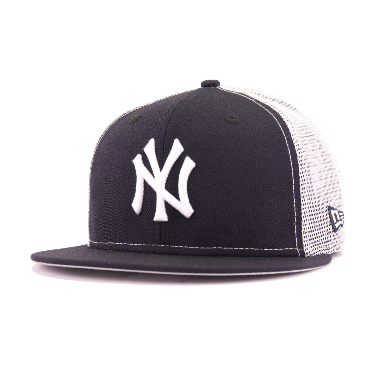 New York Yankees Navy White Trucker New Era 9Fifty Snapback