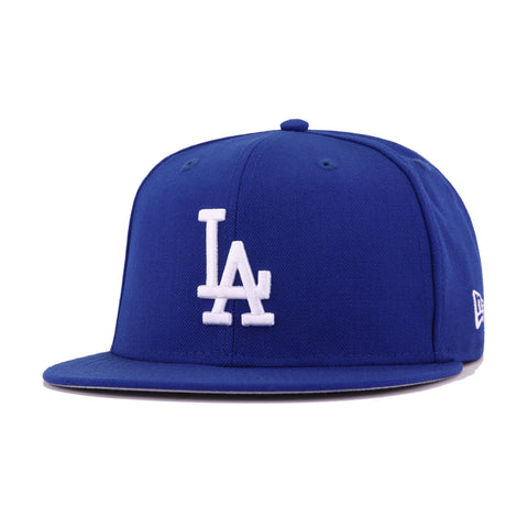 Los Angeles Dodgers Light Royal Blue 1963 World Series Cooperstown New Era 59Fifty Fitted
