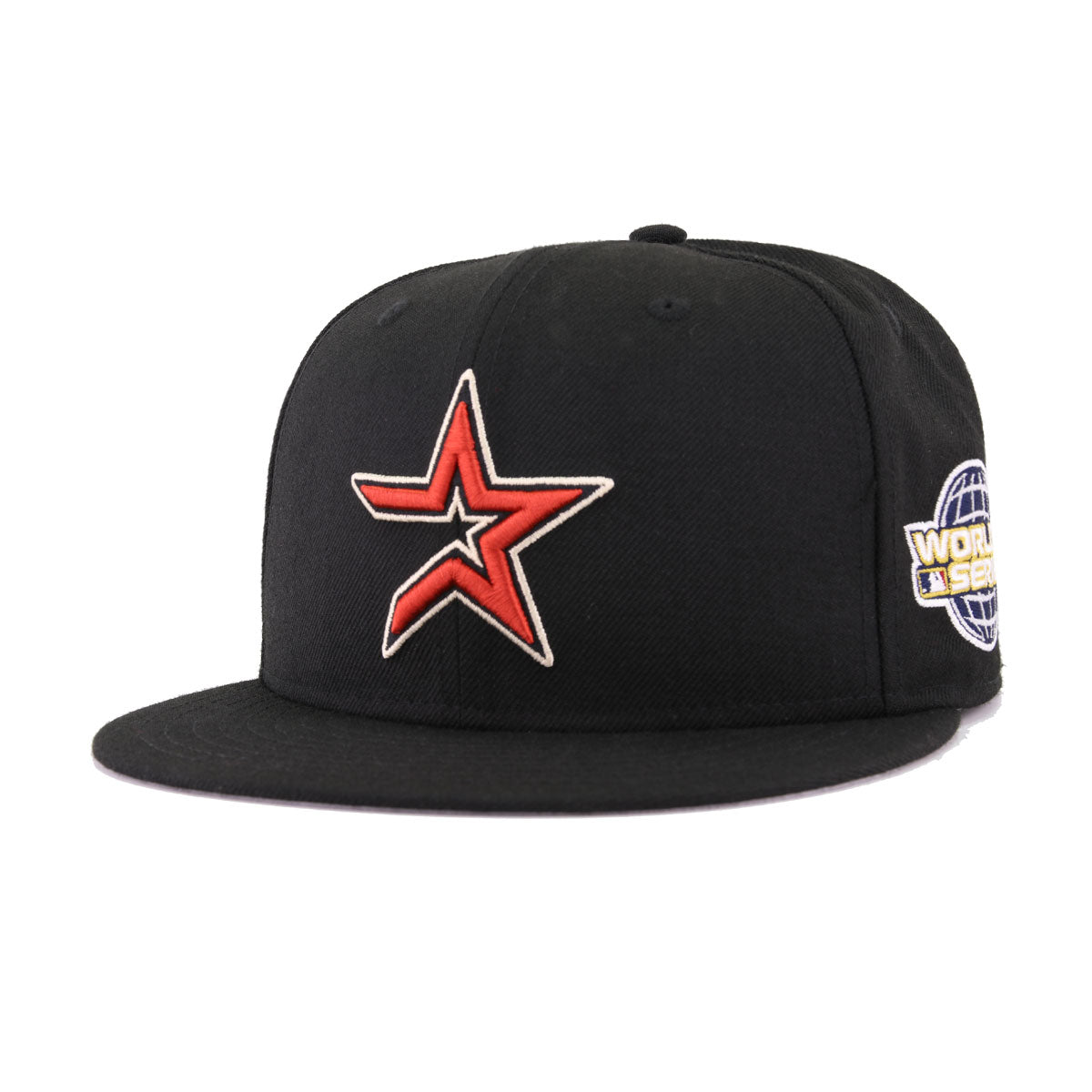 Houston Astros Cooperstown Black Terra Cotta New Era 2005 World Series 59Fifty Fitted