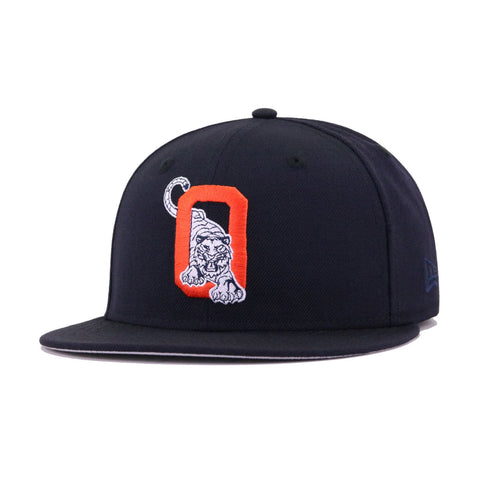 Oneonta Tigers Navy White Tiger New Era 59Fifty Fitted
