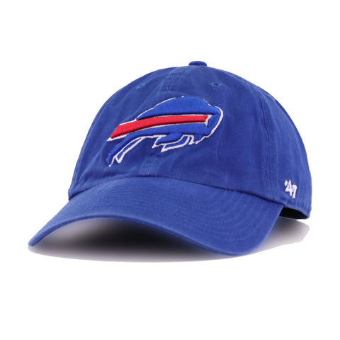 Buffalo Bills Light Royal Blue 47 Brand Clean Up Dad Hat