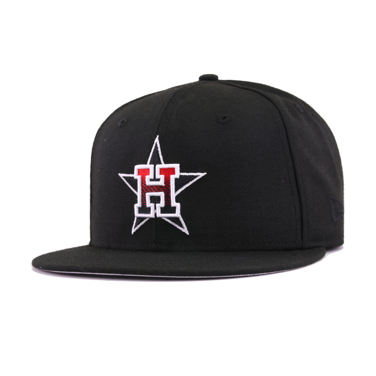 Houston Astros Black Scarlet Gradient 45th Anniversary New Era 9Fifty Snapback