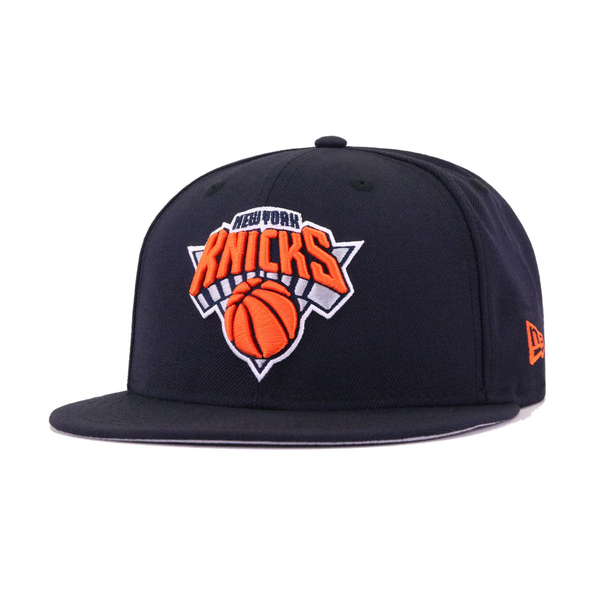 New York Knicks Navy New Era 9Fifty Snapback
