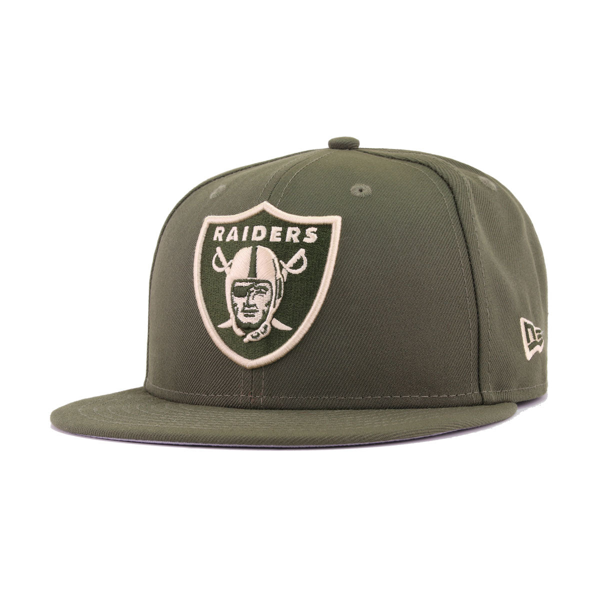 Las Vegas Raiders New Olive New Era 9Fifty Snapback