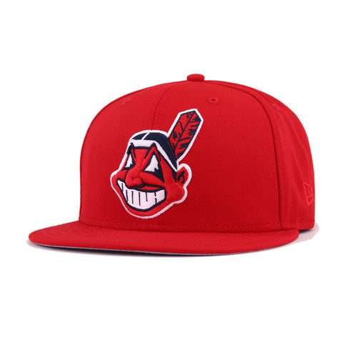 0c41159465f951 Shop Cleveland Indians Snapback Hats & Fitted Caps | Hat Heaven