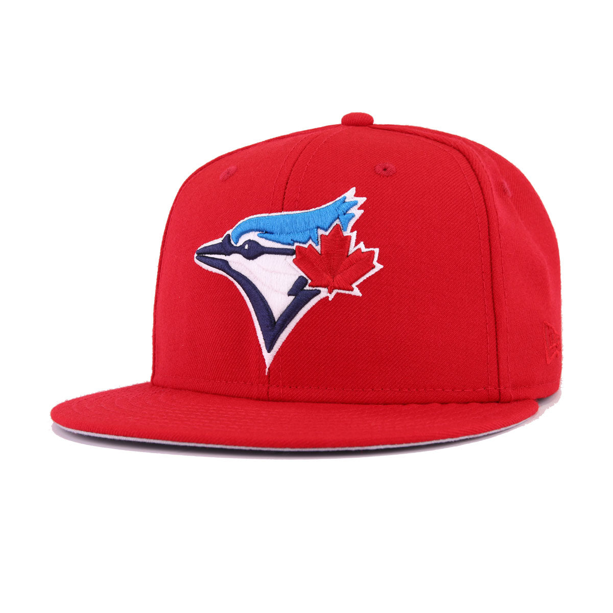 the best attitude d7ef7 5d39c Toronto Blue Jays Scarlet 30th Anniversary New Era 59Fifty Fitted
