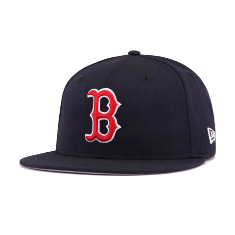 b69f84c9fe5e1e Boston Red Sox Navy 2007 World Series Cooperstown New Era 59Fifty Fitted